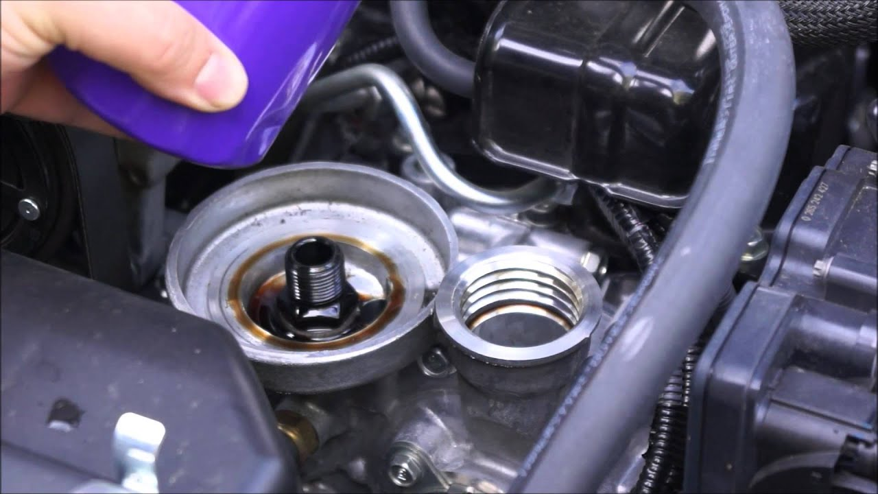 Subaru BRZ Easy Oil Change - YouTube