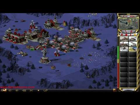 C&C Red Alert 2 Hard - Soviet - Operation: Chrono Defense 1/3