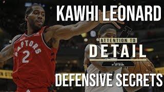 The Secrets to Kawhi's Defense (Part 1)