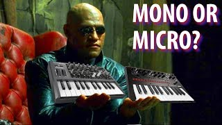 SYNTH VS SYNTH -- KORG MONOLOGUE or ARTURIA MICROBRUTE?
