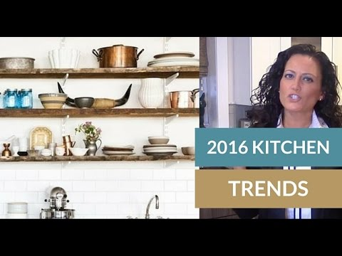Home staging tips kitchen design trends 2016 by tori toth for Kitchen color trends 2016