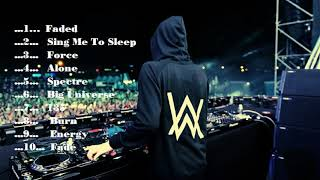 Alan Walker  10 Lagu Unggulan Nya