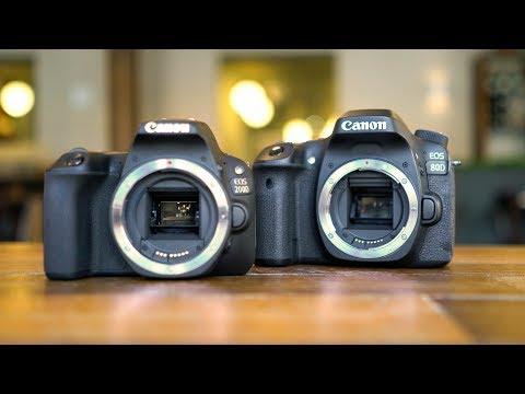 Canon SL2/200D Vs  Canon 80D: Best Entry-Level Camera