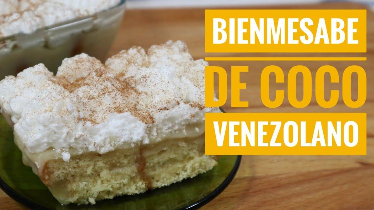 BIENMESABE VENEZOLANO / Bienmesabe de coco /Fácil y Rápido