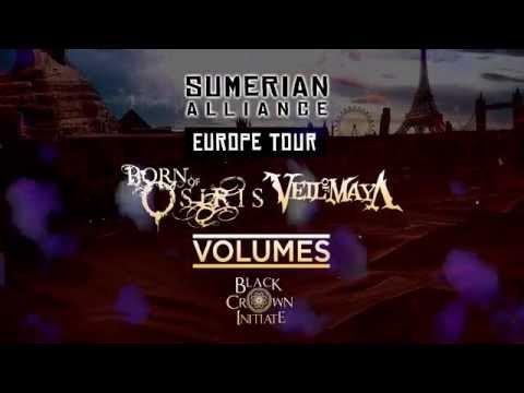 Sumerian Alliance Europe Tour (Official Trailer)