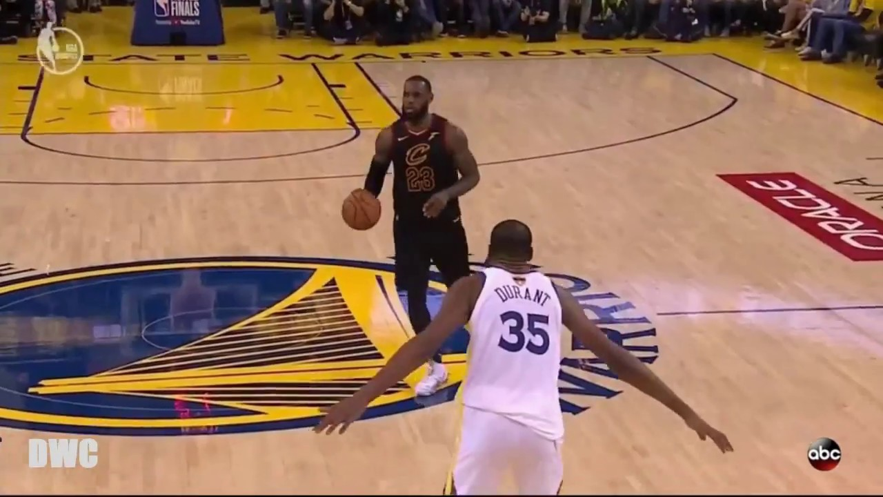 73814d31348 Kevin Durant vs LeBron James One On One Defense