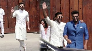 Ranveer Singh's GRAND ENTRY At Sonam Kapoor's Wedding 2018