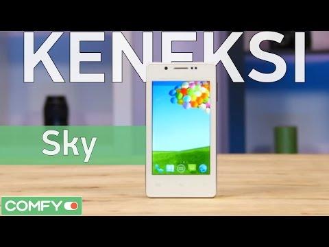 Keneksi Sky - бюджетный смартфон с 8 Мп камерой и IPS экраном - Видео демонстрация