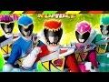Siêu nhân Khủng long sấm sét chiến đấu quái thú - Power Rangers Dino Game