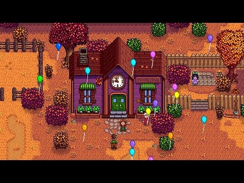 Stardew Valley Community Center ENDING - All Cutscenes - All Bundles - Joja Closed & Out Of Business