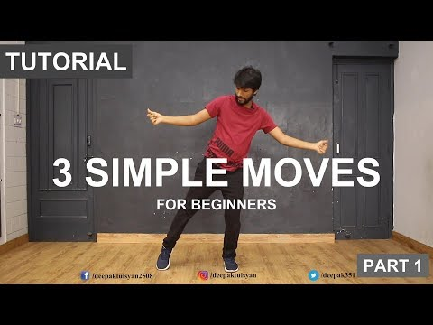 3 Basic Dance Steps for Everyone  Deepak Tulsyan  G M Dance