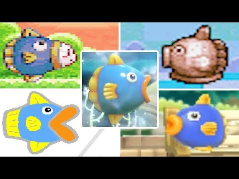 Evolution of Kine in Kirby Games (1995 - 2018)