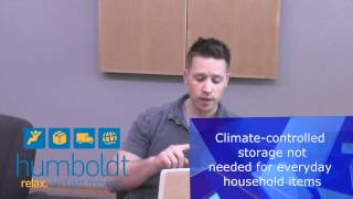 The difference between climate controlled storage and warehouse storage