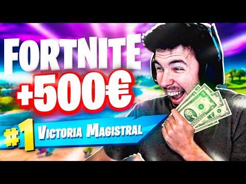 DONO 500€ Cada VICTORIA En FORTNITE