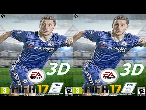 FIFA 17 3D VR video 3D SBS google cardboard