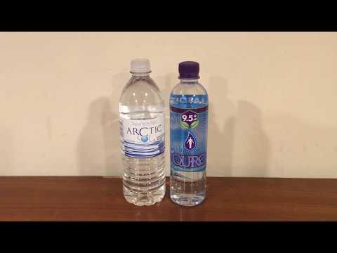 Jon Drinks Water #5945 Qure 9 5+ Water VS Arctic Sol Natural Spring Water