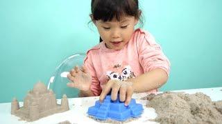라임의 키네틱샌드 모래 장난감 촉감놀이 LimeTube & Toy