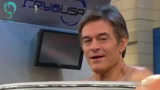 Dr  Oz Tries Whole Body Cryotherapy