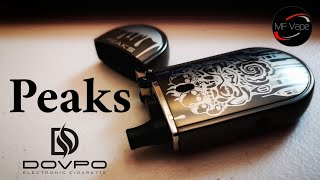 Dovpo Peaks Pod System | Satisfying Draw | Good Starter Kit or Stealth Vape | #Stoptober