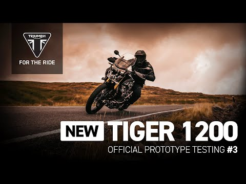 New Tiger 1200 - Official Prototype Testing #3