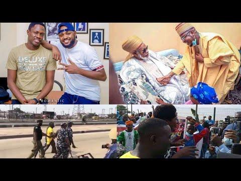 Download Zango ya godewa Ali Nuhu da koya masa film/Fantami ya kaiwa Dahiru Bauchi Ziyara/Zangazangar June12
