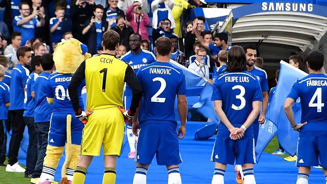 Chelsea Fc Season 2014 15 Squad Presentation Youtube