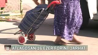 Nyugdíj: átlagosan 16 ezer forint járhat 18-09-15