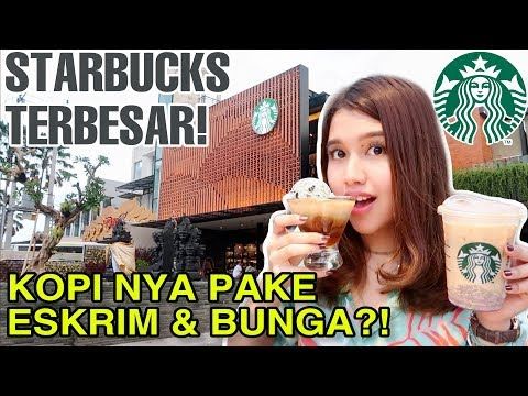 STARBUCKS TERBESAR SE-ASIA TENGGARA!! KOPINYA BEDA!
