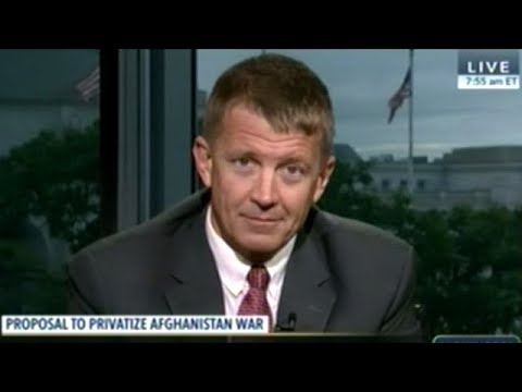 "Erik Prince ""Trying To Find An Off-Ramp For The Longest War In History!"""