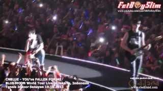 Video CNBLUE - YOU'VE FALLEN FOR ME ( Yong Hwa little dance intro) live in Jakarta, Indonesia 2013 download MP3, 3GP, MP4, WEBM, AVI, FLV Juli 2018