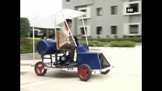 Engineering students claim to have developed prototype car which runs on air - ANI News
