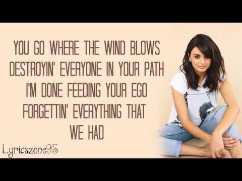 Rebecca Black - THE GREAT DIVIDE Lyrics