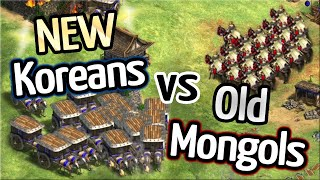 NEW Koreans vs OLD Mongols! TheViper vs Liereyy