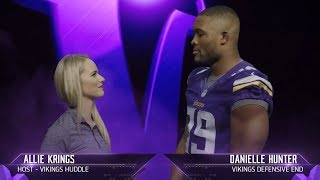 Get to Know Vikings Defensive End Danielle Hunter