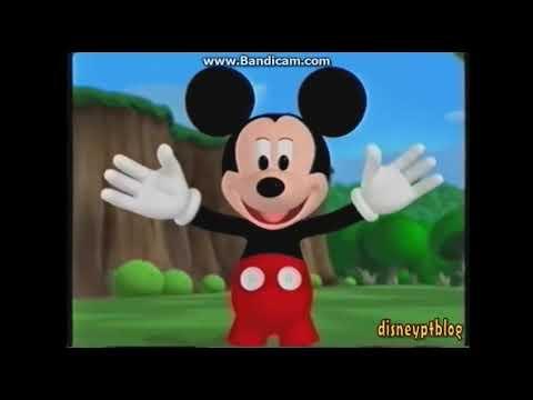 Playhouse Disney Portugal A Casa Do Mickey Mouse Promo (2006)