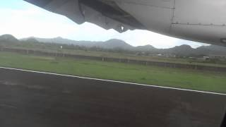 Landing in Virac airport, Catanduanes