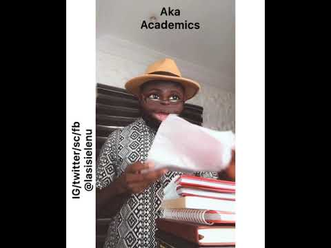 BIG DIFFERENCE BETWEEN YANKEE LECTURERS AND NAIJA LECTURERS.