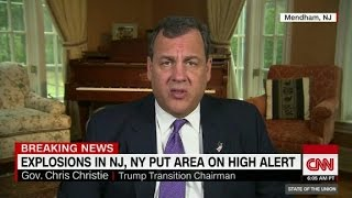 Christie: You can call NJ, NY explosions terrorism