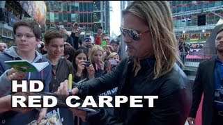 World War Z Germany Premiere Atmosphere: Brad Pitt & Angelina Jolie