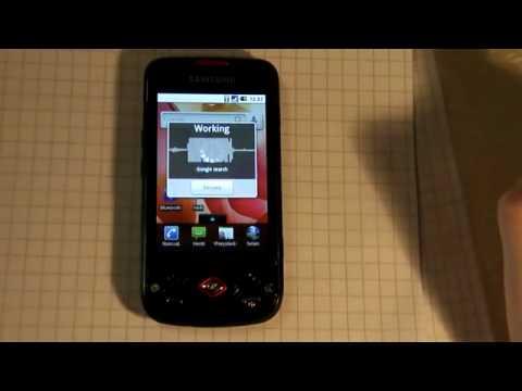Samsung Galaxy Spica - Äänentunnistus suomeksi