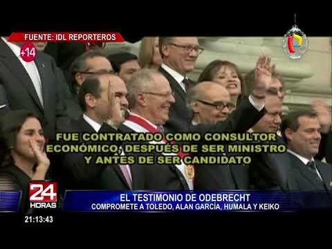 IDL Reporteros: testimonio de Odebrecht compromete a Toledo, Alan, Humala y Keiko