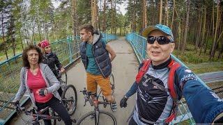 Велосипеды. Заельцовский парк. Утро 12.05.2017
