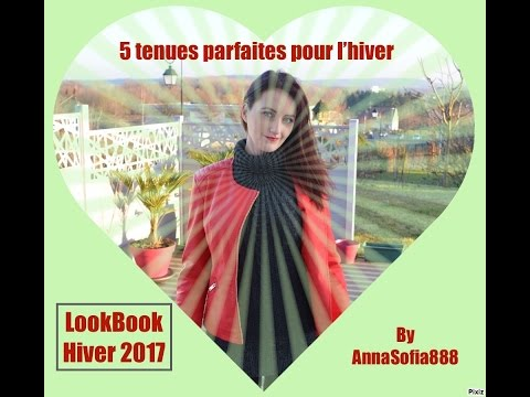 lookbook hiver 2017 et printemps 5 tenues youtube. Black Bedroom Furniture Sets. Home Design Ideas