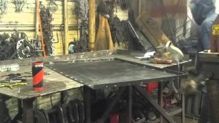 Garbage Bin Enclosure Top Fabrication