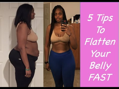how-to-get-a-flat-stomach-fast-|-5-tips-for-a-flat-belly