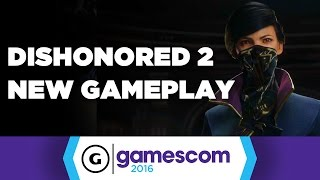 Dishonored 2 New Gameplay - The Clockwork Mansion