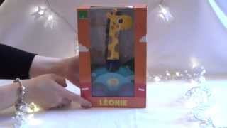Vilac Leonie The Giraffe Wooden Pull Along Toy