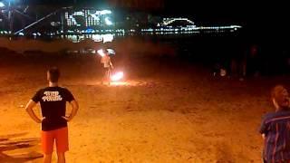 Геленджик ночное представление на пляже(, 2015-12-22T20:41:47.000Z)