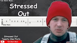 Twenty One Pilots - Stressed Out Guitar Tutorial