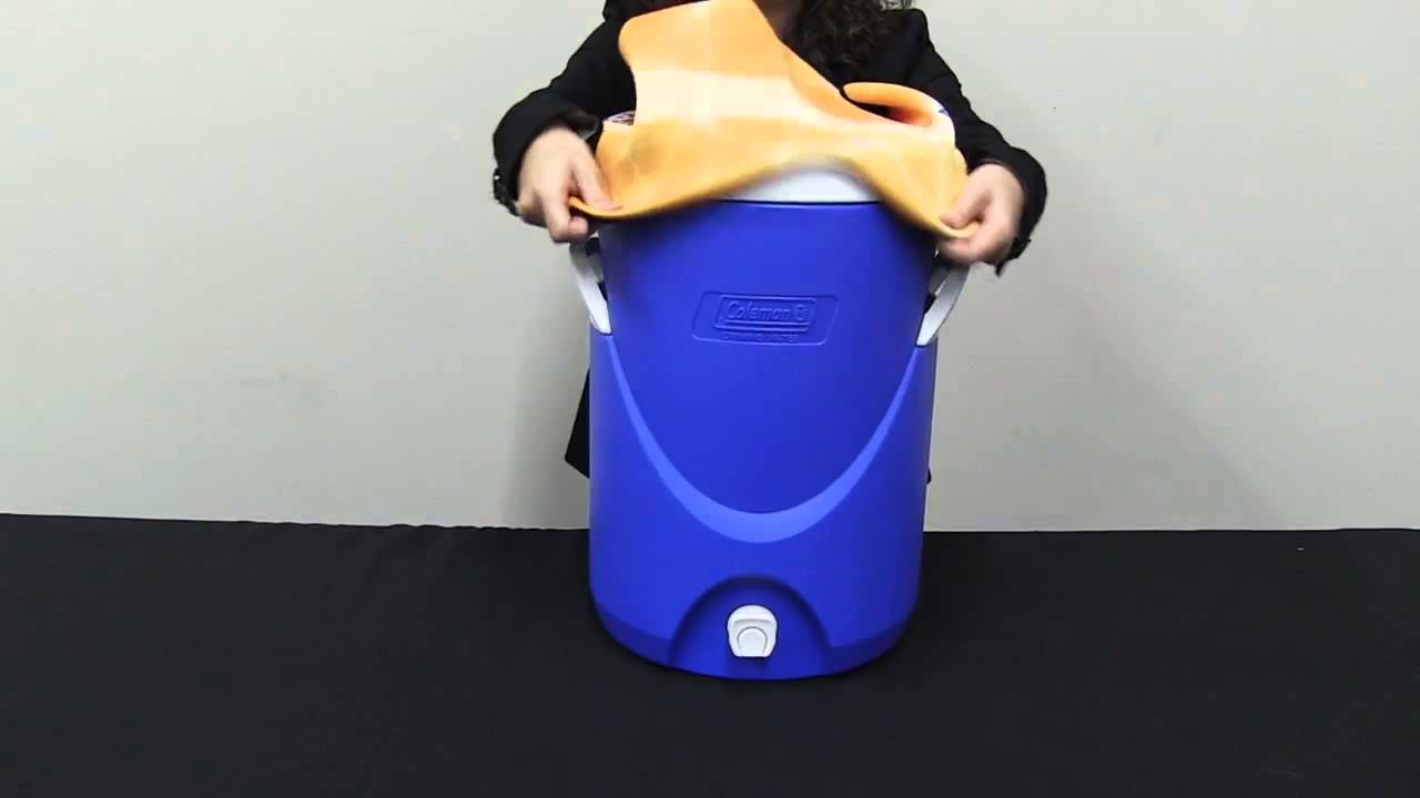 Rappz Imprinted Water Cooler Cover Coleman 5 Gallon Youtube